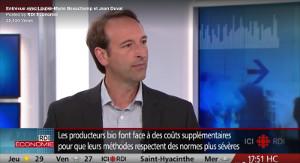 RDI Économie - Entrevue avec Louise-Marie Beauchamp et Jean Duval
